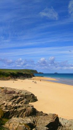 St George's Cove, Padstow April 2015 by MM England. Cornwall Beaches, Cornwall Coast, Devon And Cornwall, Cornwall England, North Cornwall, Great Places, Places To See, British Beaches, St Just