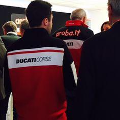 Ducati Corse e Team Aruba.it Racing - Ducati Superbike all'evento di presentazione ufficiale del nuovo team - 2 febbraio 2015