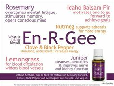 Young Living - I use En-R-Gee every morning to give me the boost I need. Rub a drop on the back of neck and one on the wrists. Great for every tired mom and those with adrenal fatigue. Best Essential Oils, Essential Oil Uses, Young Living Oils, Young Living Essential Oils, Oils For Life, Living Essentials, Adrenal Fatigue, How To Increase Energy, Tired Mom