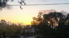 Sunset overlooking station 17 Alpine CA