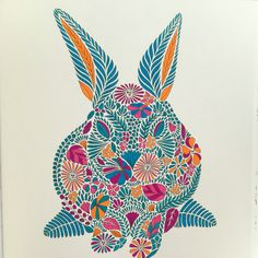 Millie Marotta Animal Kingdom Bunny