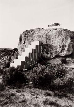 Ettore Sottsass | Metafore |  Disegno di una scala per entrare in una casa molto ricca, 1974