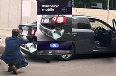 En cas d'accident, Esurance propose de faire l'expertise par chat vidéo depuis un smartphone