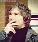 Martin, that hair!!