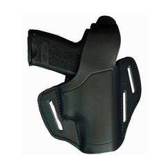 AKAH Leder Gürtelholster QUICKMAT P225 für Pistolen
