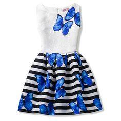 Verano niñas princesa vestidos sin mangas bebé niños adolescentes party girls vestido edad tamaño 6 7 8 9 10 11 12 años