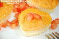 Will Cook For Smiles: Tomato Feta Quiche Hearts, #Valentine's Day Breakfast For Two This sounds really good and really easy!
