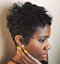 10 short choppy pixie for black women