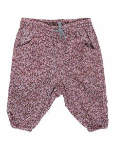 trousers with small flower print - noanoa - 200kr