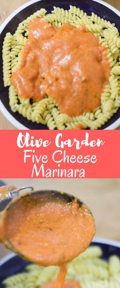 Olive Garden five cheese marinara copycat recipe
