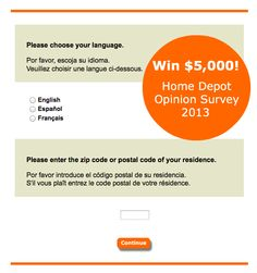 Depot Opinion Survey was our most popular survey in 2012. This survey ...