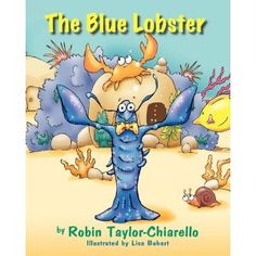"""Perfect book for us! """"The Blue Lobster"""""""