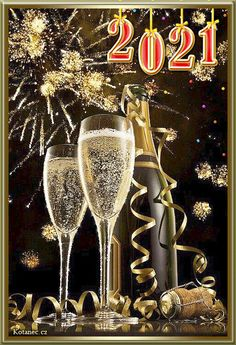 036 novorocni prani - novy rok - PF Happy New Years Eve, Happy New Year 2020, New Years Eve Party, Birthday Greetings, Happy Birthday, Happy New Year Pictures, Christmas Staircase, New Year's Eve 2020, New Years Eve Weddings