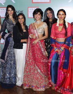 Sayani Gupta makes for a lovely bride at Vogue Wedding Show 2016 Gold Lehenga, Lehenga Choli, Saree, Vogue Wedding, Wedding Show, Bridal Outfits, Indian Ethnic, Latest Pics, Indian Beauty