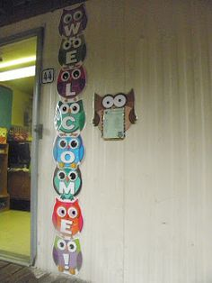 Owls and Polka Dots...Adventures in PreK: classroom pictures