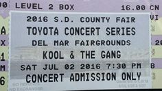 Today is a happy day. Scored a pair of tix to see Kool & the Gang in San Diego on 4th of July weekend!