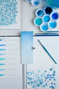 Get out those watercolors.  Lovely post by a Creative Mint