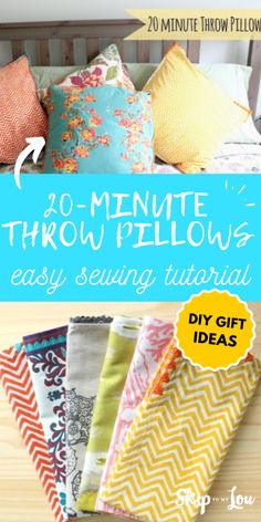 20 Minute Throw Pillow