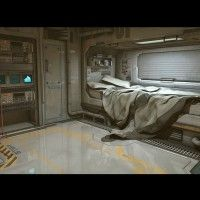 Sci-Fi Bedroom | 3D Models and 3D Software by Daz 3D