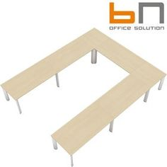 BN CX 3200 Conference Table Arrangement 6 To Seat 12 People  www.officefurnitureonline.co.uk