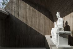 Waterside Buddhist Shrine by Arch Studio | Church architecture / community centres