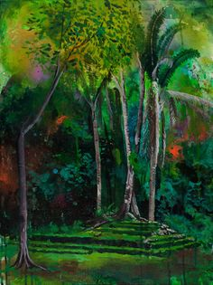 Tropical Daydream... Paintings by Melissa Loop