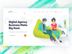 Agency Landing Page.