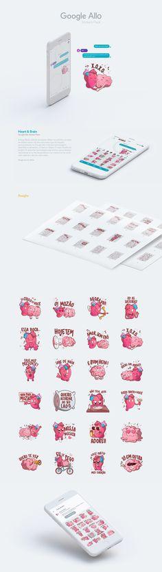 Google Allo Sticker Pack on Behance