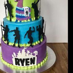 Sam Paper & Fab by SamandPaper on Etsy 9th Birthday Cake, 10th Birthday Parties, Birthday Bash, Birthday Party Themes, Birthday Ideas, Cupcake Cakes, Cupcakes, Cakes For Boys, Party Cakes