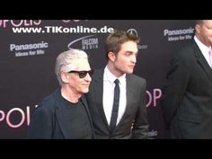 """New/Old Video Of Rob and David Cronenberg At The """"Cosmopolis"""" Premiere In Berlin"""