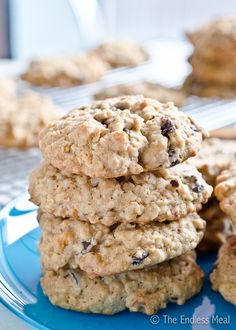 Healthy Breakfast Cookies, I'm not so sure how healthy they are but they sound good!