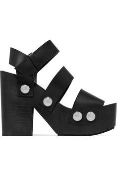 ALEXANDER WANG . #alexanderwang #shoes #sandals
