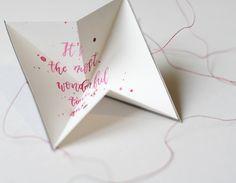"""... um jemanden eine kleine Botschaft zu hinterlassen ;-) Diese Idee habe ich aus dem Buch """"Meine Buchbinderei"""" und ich habe es m..."""