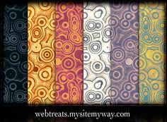 Urban Circles Grunge Patterns by WebTreatsETC.deviantart.com on @deviantART