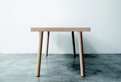 TORII  Design: Bartoli Design, 2012    The legs are also available in natural wood or black or white lacquer to create many combinations.