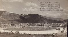 Estadio Nacional Tiburcio Carías Andino, en el año de 1948 Tegucigalpa, Rio Grande, Honduras, Hospital General, Homeland, Mount Rushmore, Mountains, Nature, Travel