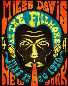 Miles Davis Jazz New York At The Fillmore