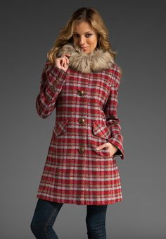 "juicy couture  ""alice"" coat"