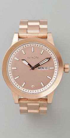 I need a Rose Gold watch...like this one by Nixon for $300