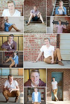 High School Senior Guy - Senior Pictures by Ann Bennett Photography, Tulsa, OK #seniorguy #senior #guyposes #hipster