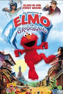 The Adventures of Elmo in Grouchland  was iz fave as a tiny babe and has rediscovered it. 4-2014