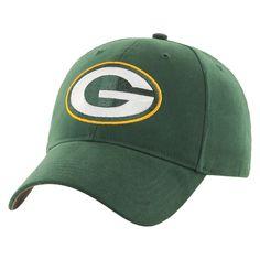 NFL Green Bay Packers Youth Money Baseball Hat, Boy's