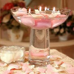 5 FANTASTIC IDEAS FOR TABLE CENTER PIECES FOR WEDDINGS