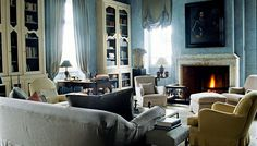 Interior shot from Chateau du tertre (Bordeaux) entirely done by Axel Vervoordt (picture taken from the book 'Axel Vervoordt. Timeless Interiors, Flammarion, 2007)
