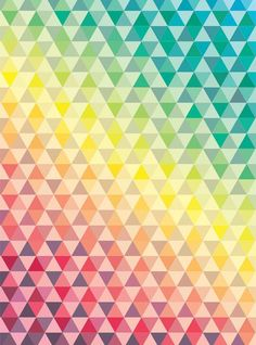 Triangle pattern.