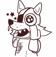 Five Nights At Freddys Coloring Pages Cool