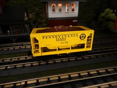MTH Spotlight  http://mthtrains.com/railking/spotlight/07_2015/i In the yard today the just arrived MTH RailKing O Gauge Ore Cars. These Ore Cars were featured in the 2015 Ready To Run Catalog in Duluth Missabe & Iron Range 30-75517, Canton 30-75519, Pennsylvania 30-75515, Union Pacific 30-75516, and Pittsburgh & Lake Erie 30-75518 road names. All RailKing Ore Cars operate on O-27 Curves and these 2015 cars have a MSRP of $49.95. Ask your MTH Dealer about MTH RailKing Freight cars today. For…