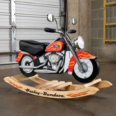 For Dusty All your little bad@$$ needs with this chopper rocker is a pair of jr. stunners and a leather jacket.