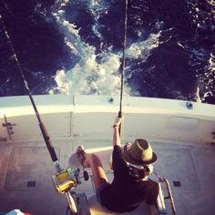 Deep sea fishing. Maui, HI
