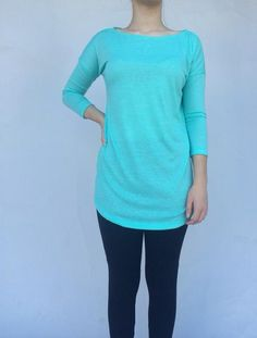 Turquoise California Tunic · The Bashful Blossom Boutique · Online Store Powered by Storenvy